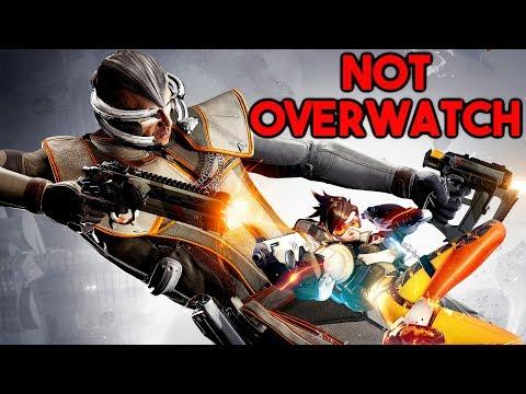LawBreakers IS NOT Overwatch! 28-0 Gunslinger Gameplay Commentary (LawBreakers PC Gameplay)