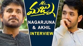 Nagarjuna and Akhil Special Interview About Mr. Majnu Movie | 2019 Latest Movies