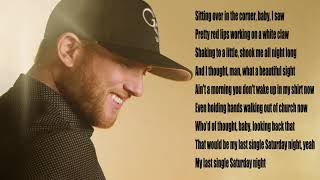 Gambar cover Cole swindell single saturday night lyrics video