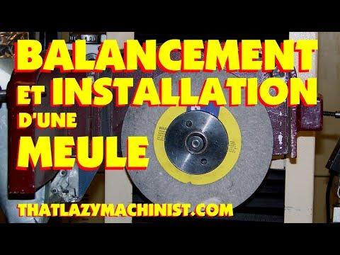 019 INSTALLATION DUNE MEULE DE RECTIFIEUSE MPEG2 LESPRODUCTIONSMAL