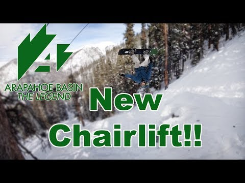 Arapahoe Basin's New Chair Lift and Terrain - The Beavers - (Season 3, Day 32)