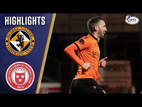 Dundee Utd Hamilton Goals And Highlights