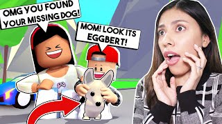 WE FOUND MY SON'S MISSING PET in Adopt ME! *HE CRIED!* - Roblox - Adopt Me
