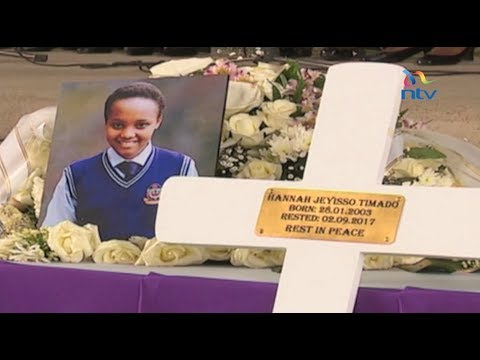 Victim of Moi Nairobi Girls School fire tragedy laid to rest