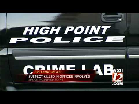Noon Update: Man Shot, Killed By High Point Officers