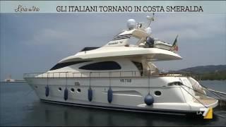 Gli italiani tornano in Costa Smeralda