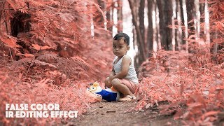 False Color Effect Photoshop Tutorial | Baby Photos