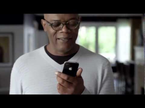 Samuel L Jackson iPhone 4S Siri Commerical Ad mp4