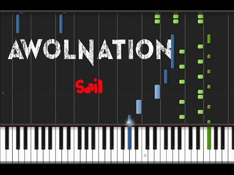 Awolnation - Sail [Piano Tutorial] (♫)