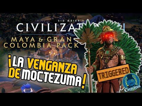 ¡LA VENGANZA DE MOCTEZUMA! - Civilization VI - Mayas y Gran Colombia |