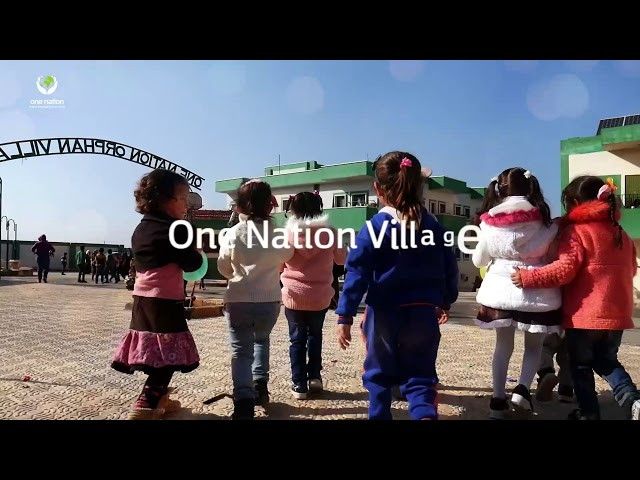 Funday and food at the One Nation village in Syria
