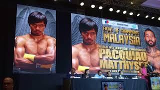 Pacquiao Matthysse Fight Presscon Part 1 thumbnail