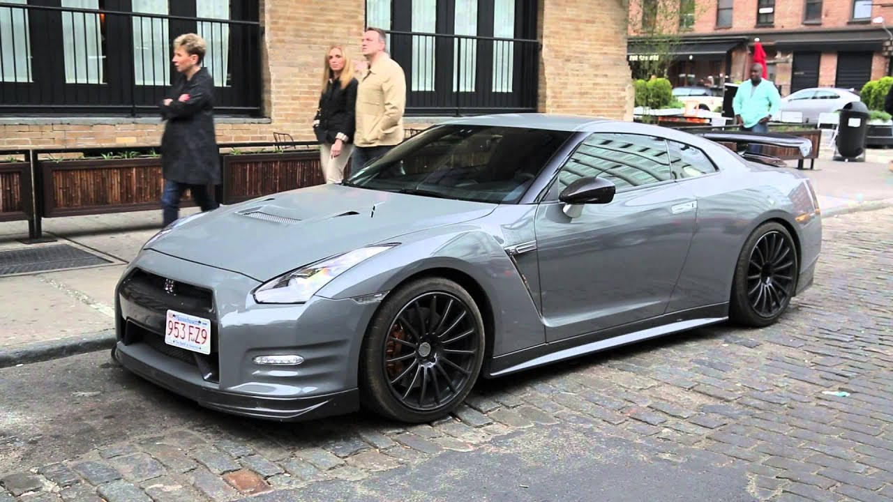 Gloss Grey Kaizen Tuning Nissan Gt R Youtube