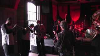 "Billy Squier - ""Stroke"" rehearsal with The Stooges Brass Band (HD)"