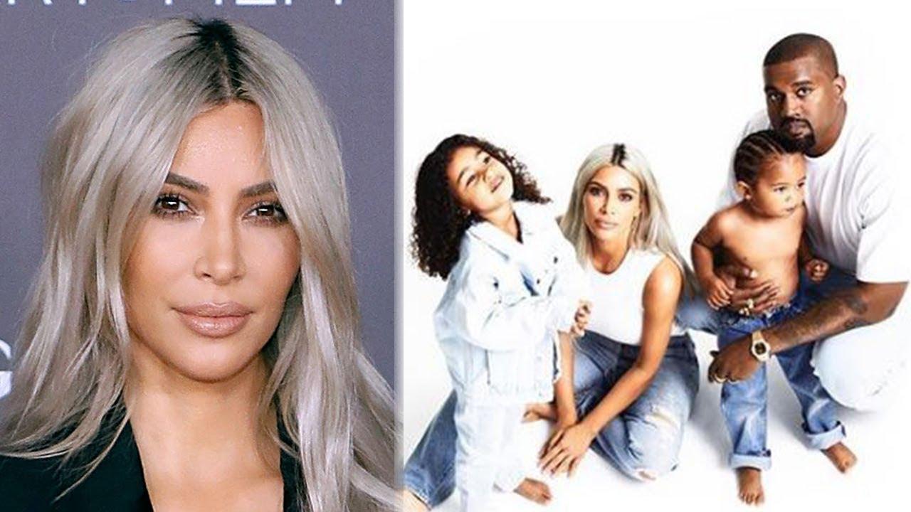 Kim Kardashian DELETES Christmas Card Pics for THIS Reason - YouTube