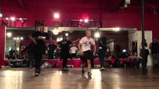 """Post to Be"" OMARION feat. CHRIS BROWN & JHENE AIKO:::Candace Brown and Karon Lynn Choreography"