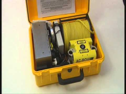 AC   ROV underwater inspection micro ROV deployment and