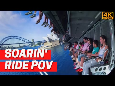 Soarin' At Epcot In 4K POV