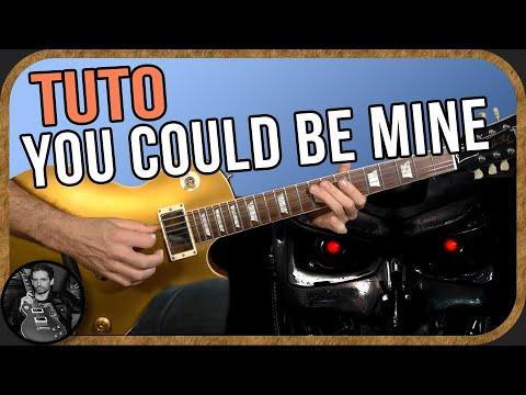 You Could Be Mine (solo) - Slash / Guns N' Roses - Cover & Tuto