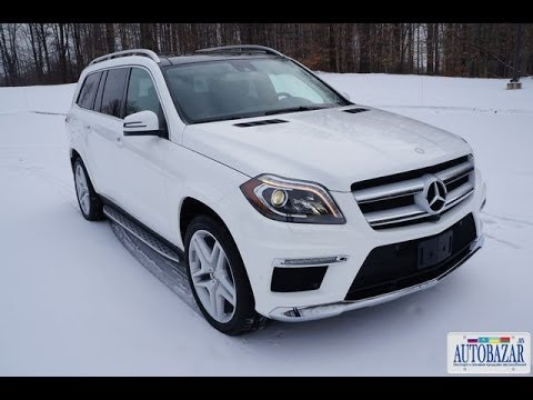 2014 Mercedes-Benz GL550  видео обзор. Тест драйв 2014 Мерседес X166 GL550. Авто из США