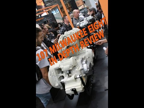 2017 Harley Davidson Milwaukee 8 - 107 Cubic Inch Engine in-depth Review