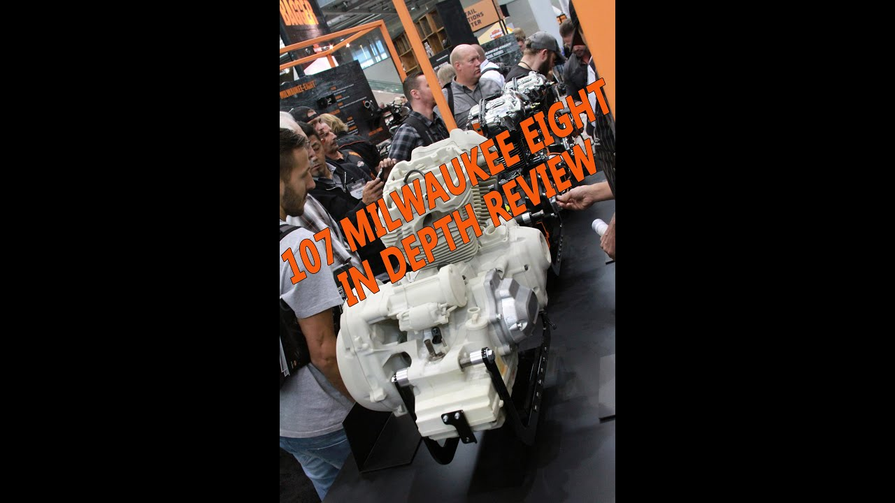 Harley Milwaukee 8 >> 2017 Harley Davidson Milwaukee 8 - 107 Cubic Inch Engine
