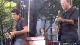 John Mayer and Eric Clapton - Crossroads (ABC News)