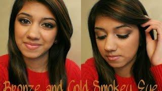 Make Up Tutorial - Rose Gold Smokey eye | Cosmepic