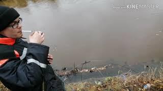 Отдыхаем в тайге у реки Ендырь Рыбалка на паук Ловим окуня и чебока