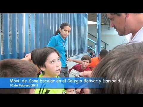 M vil de zona escolar desde el colegio bol var y garibaldi for Colegio bolivar y freud