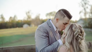 Wedding Film that will make you UGLY cry  |  Taylor and Andrew  |  The Barn at Timber Creek