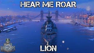 World of Warships Hear Me Roar Lion