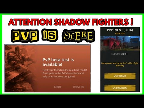 Shadow Fight 3 official PVP beta test is available for 2 days - 동영상