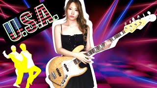 【DA PUMP】『U.S.A.』ベース弾いてみた&歌ってみた