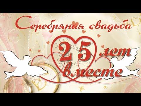 Серебряная свадьба!  25 лет! (Готовый  проект для Project for ProShow Producer)