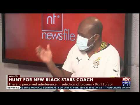New Black Stars coach: We never change FA when things are not going right -  Kojo Addae Mensah