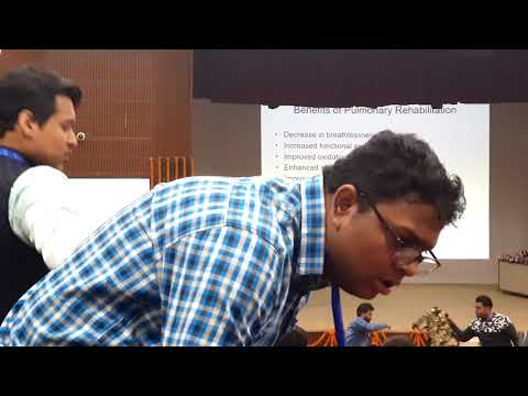 PULMONARY REHABILITATION IN COPD  INCPT AIIMS CONFERENCE OF PHYSICAL THERAPY 2018