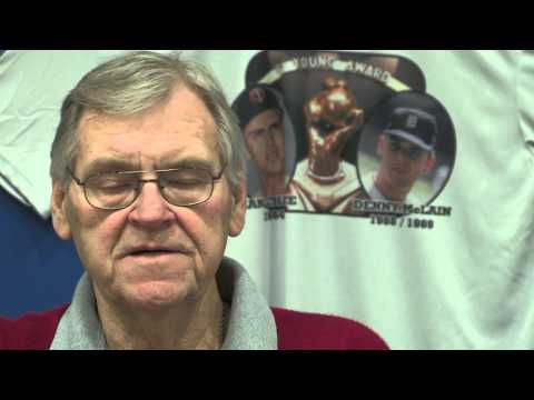 WKTV Sports Ray Peuler Interviewing Denny Mclain