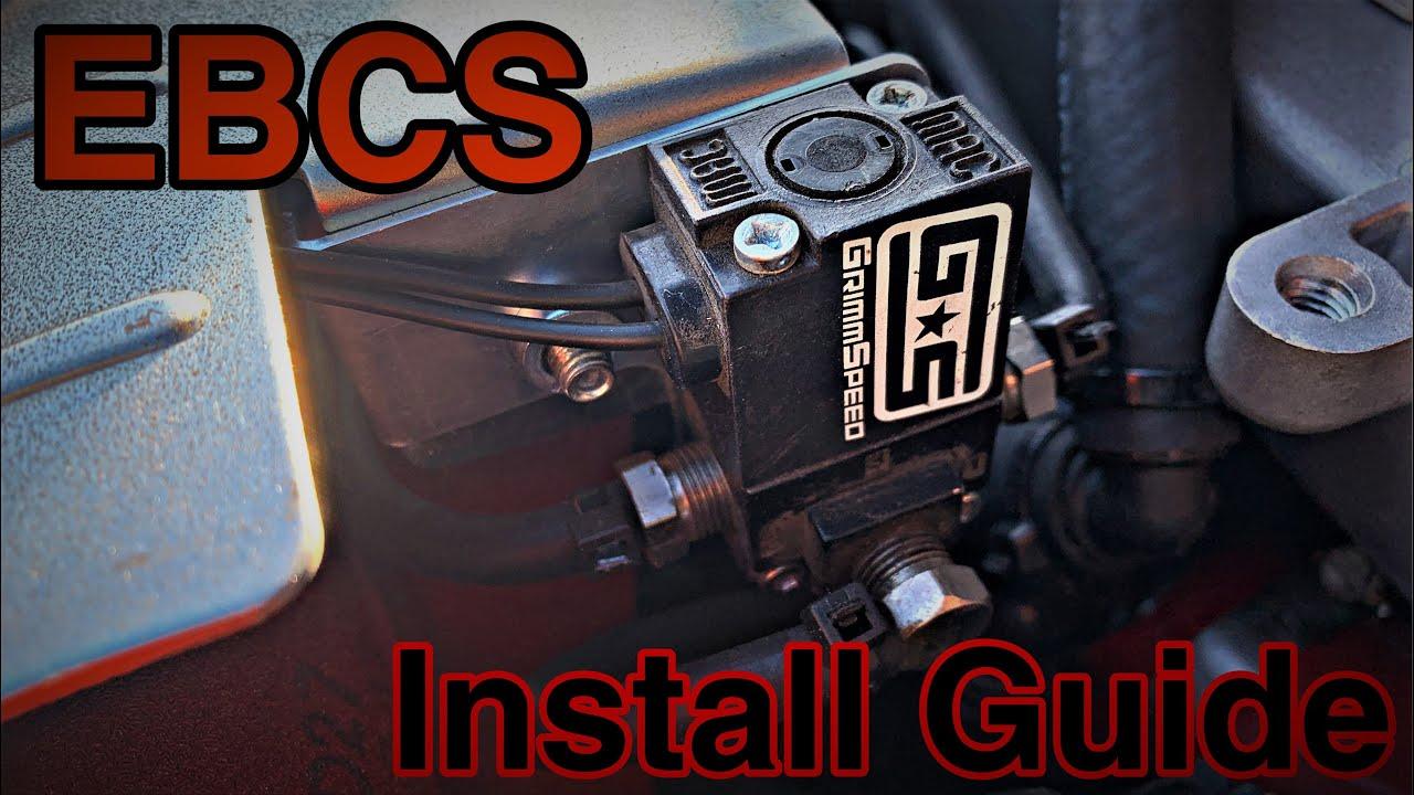 09 Grimmspeed Electronic Boost Controller 08 FXT EBCS Subaru WRX LGT 05