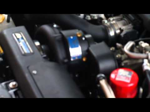 Vortech Supercharger with Turbosmart 25mm BOV