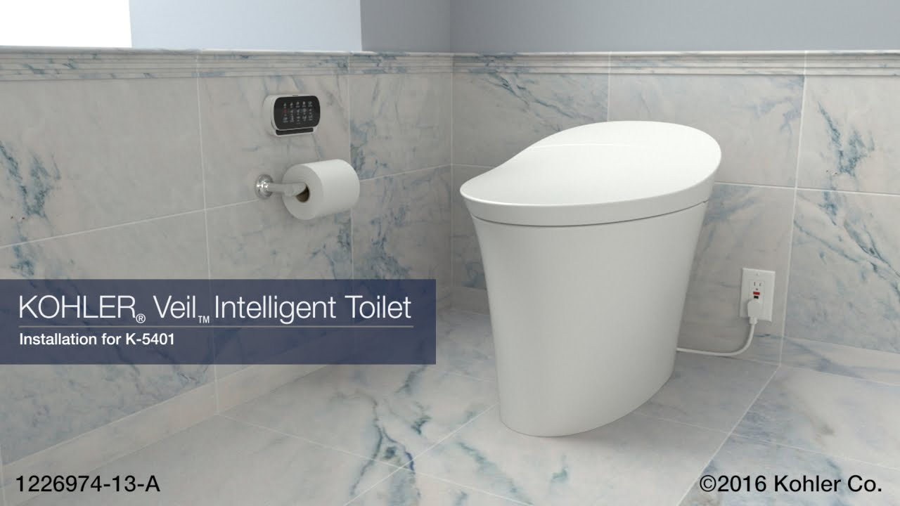 Installation Veil Intelligent Toilet Doovi