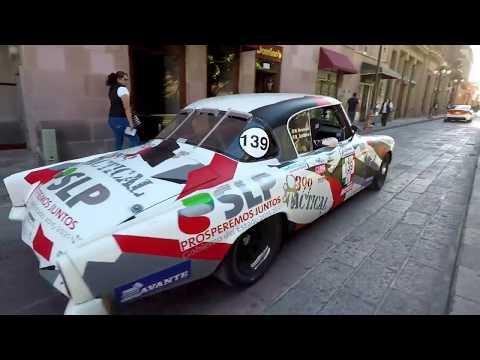 La Carrera Panamericana Expo San Luis Potosi 17 oct  2017
