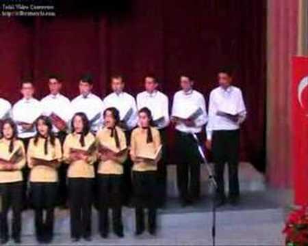 2006 2007 aksaray agsl batı müziği korosu şef(özlem özgül)