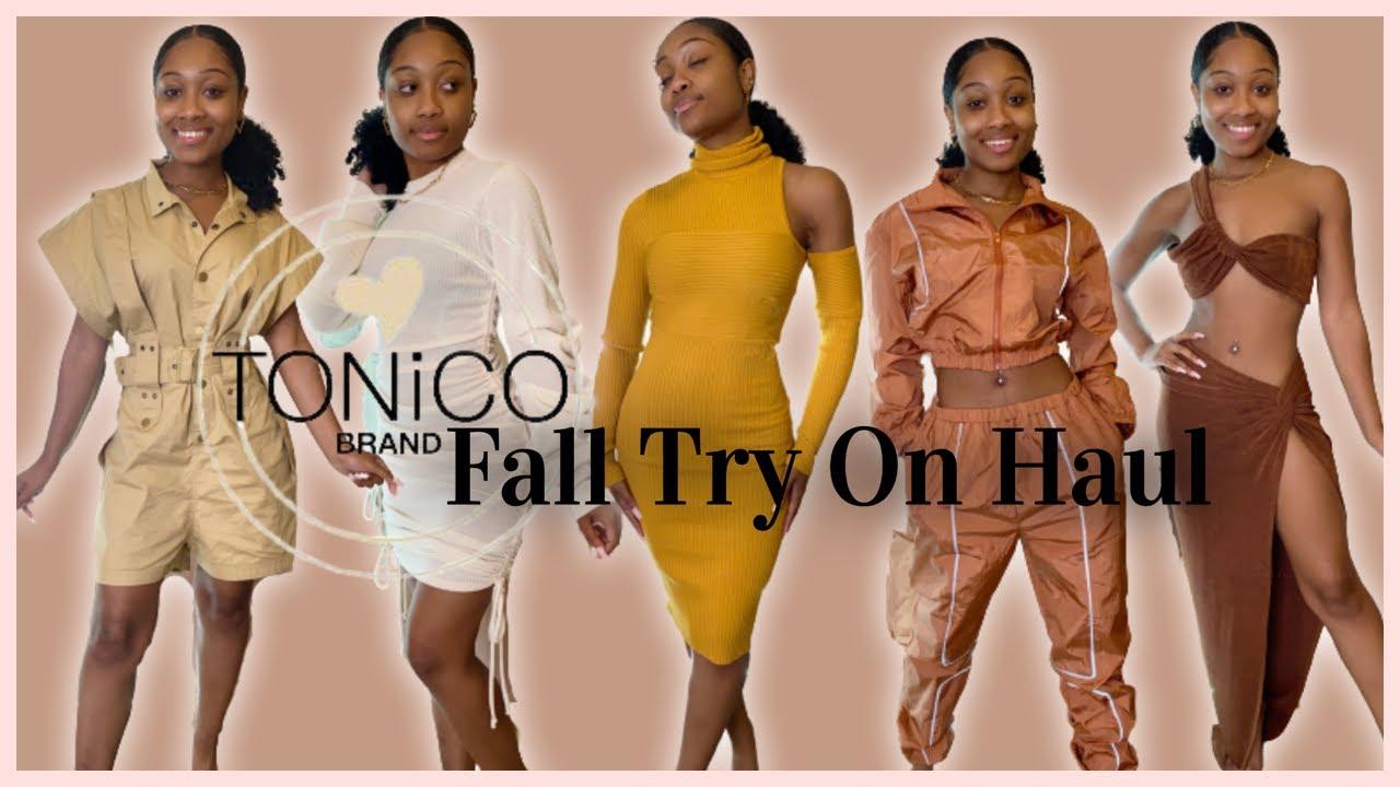 Download Black Owned Fall Fashion Try On Haul   Tonico Brand   OKae Kaela