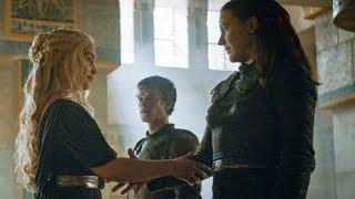 Alianza Daenerys Targaryen y Yara Greyjoy | Juego de Tronos 6x09 Español HD