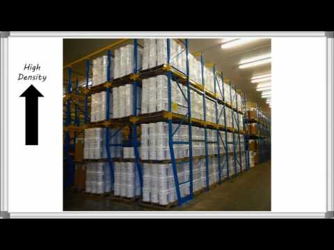 , Drive-in and Drive-through Rack | Total Warehouse Tutorials with REB Storage Systems