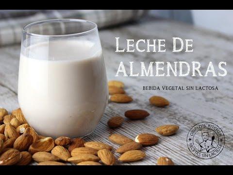 Cómo hacer leche de almendras 🥛🌱 | Bebida vegetal casera 💚