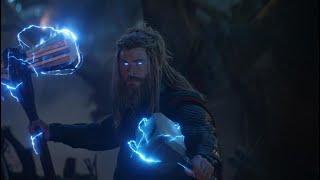 All THOR Scenes in Avengers: Endgame