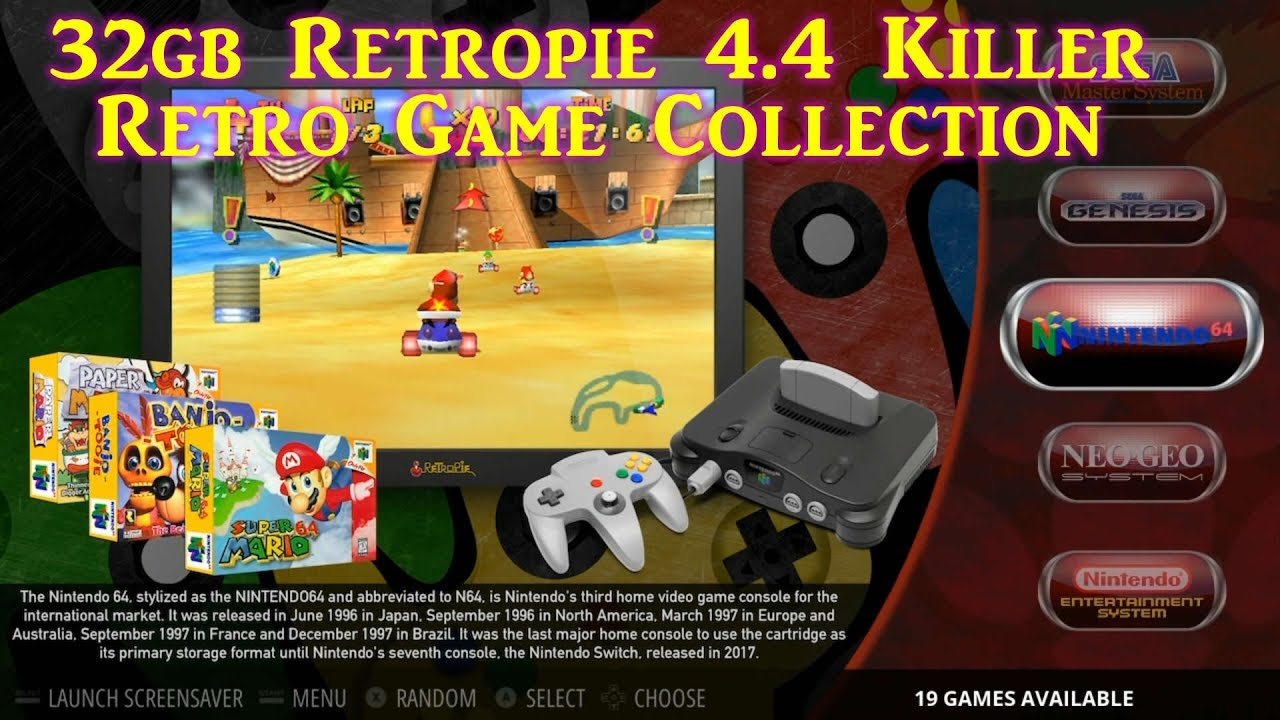 Damaso 32gb V 4 Ultimate Retropie 4 4 Fully Loaded 3b & 3b+ - Arcade