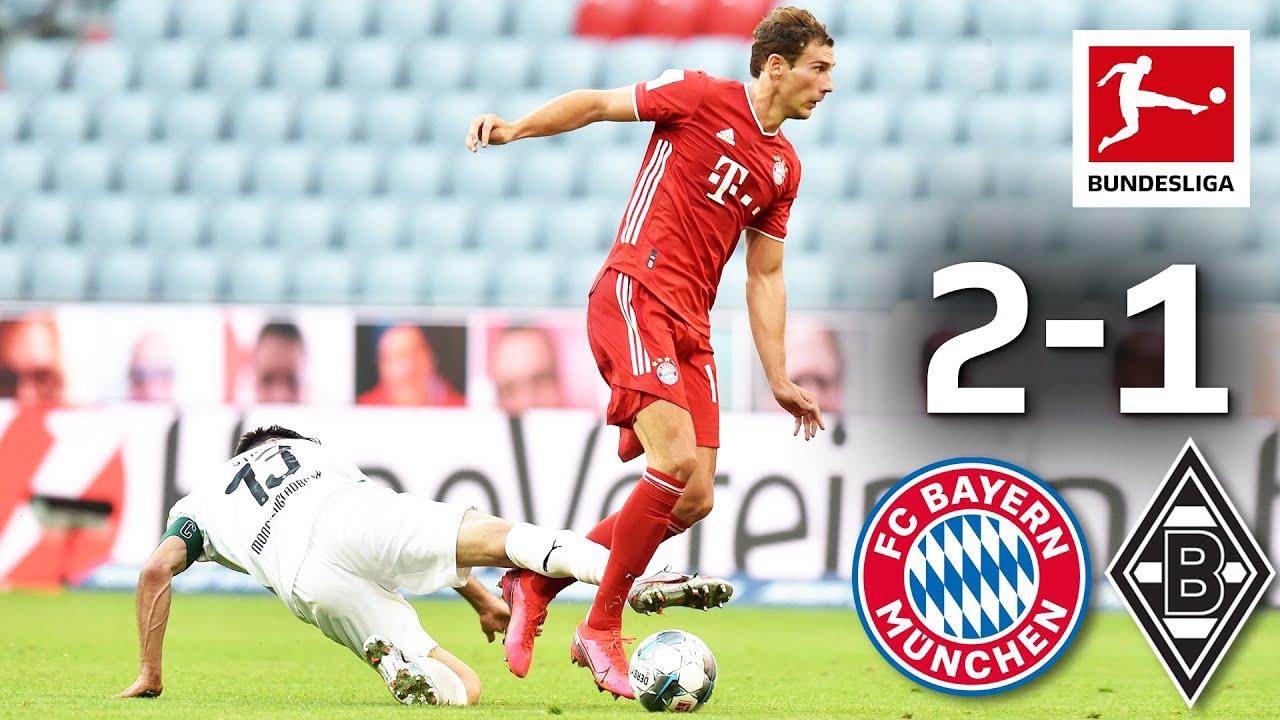 FC Bayern München vs. Borussia Mönchengladbach I 2-1 I Goretzka Scores Late Winning Goal